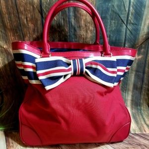 Kate Spade Red White and Blue Bag Tote Style Bag